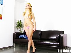 Young sexy Jakeline Teen masturbating her candy pussy