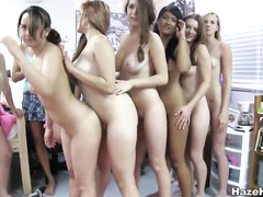 Perfect fresh teen asses