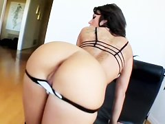 Mya Nichole and her amazing double creampie